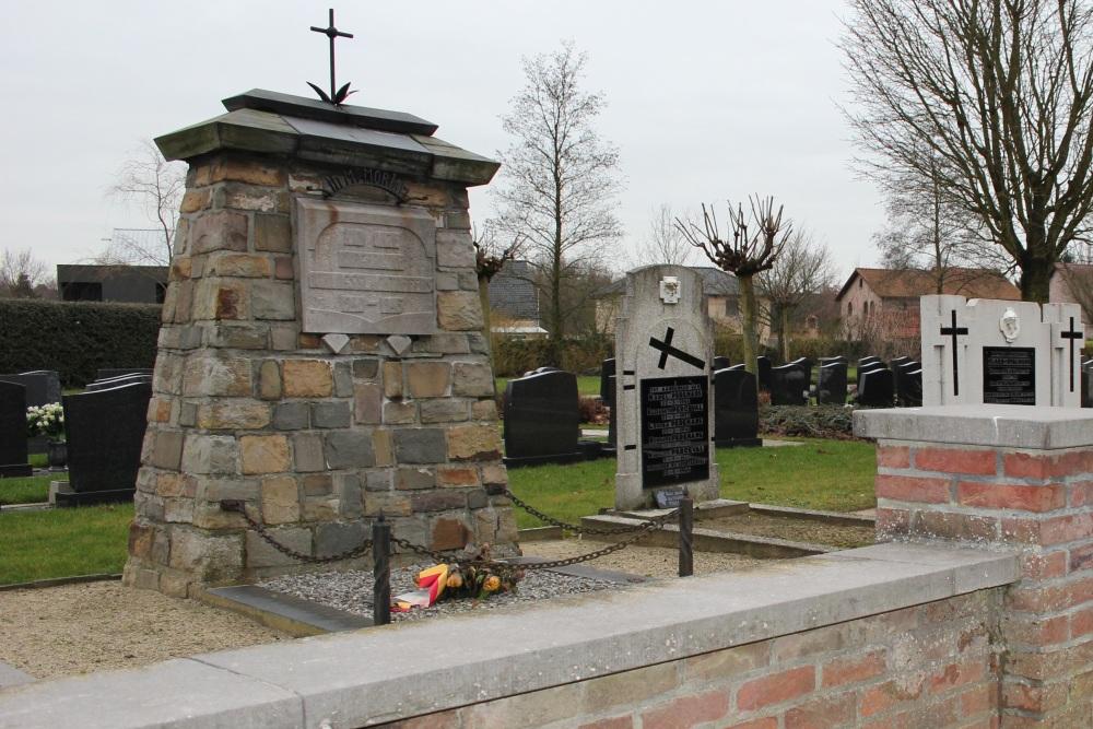 Monument Slachtoffers Luchtbombardement Beverlo