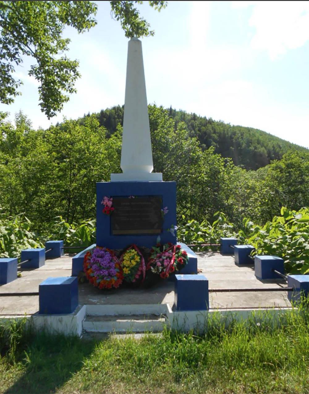 Collective Grave Soviet Soldiers Nikolaychuk