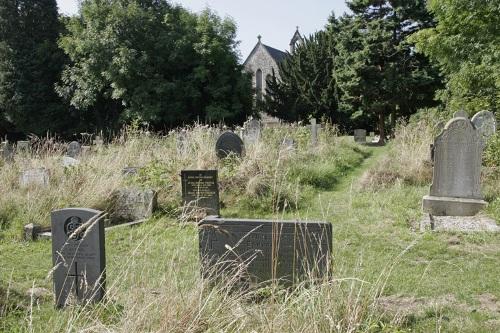 Commonwealth War Graves St Asaph Church Cemetery