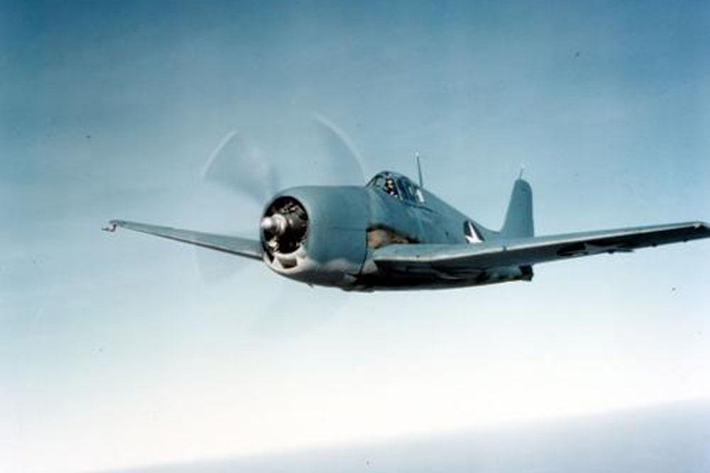 Crash Site & Remains F6F Hellcat