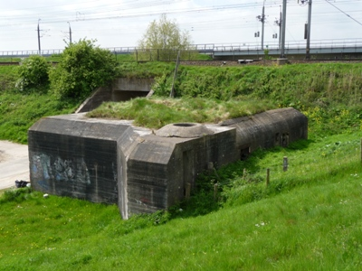 German 621-Bunker Moerdijk-Bridge