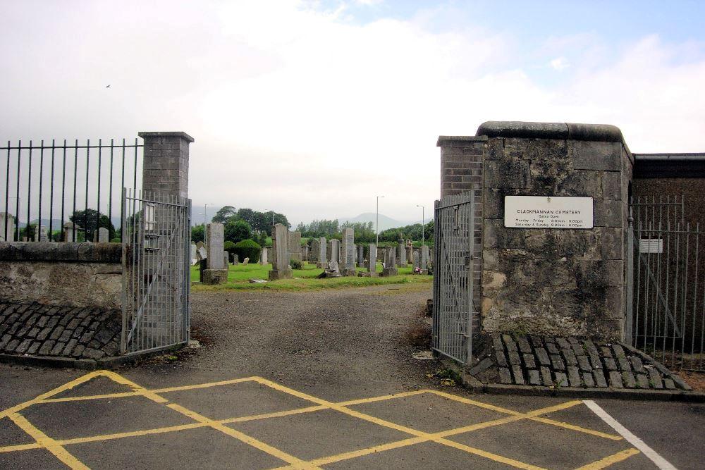 Commonwealth War Graves Clackmannan Cemetery