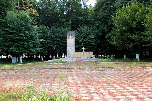 Mass Grave Soviet Soldiers Ridkivtsi