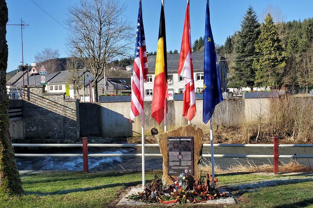 Monument US POW's 106th Infantry Division - Schönberg