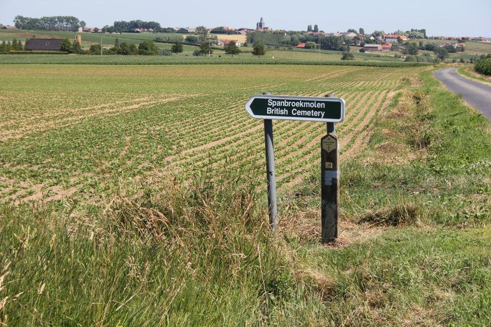 Oorlogsbegraafplaats van het Gemenebest Spanbroekmolen
