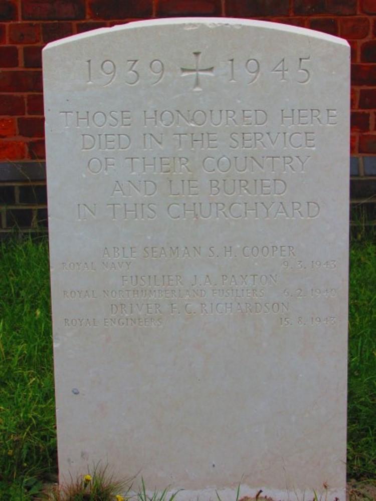 Oorlogsgraven van het Gemenebest St. Anthony Churchyard