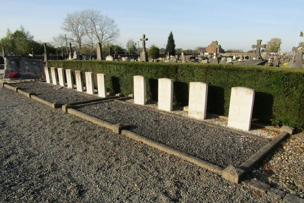 Oorlogsgraven van het Gemenebest Braine-le-Comte