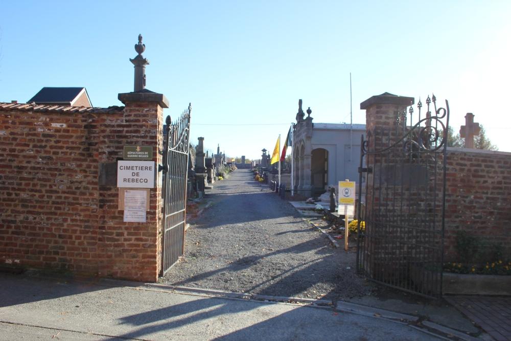 Municipal Cemetery Rebecq-Rognon