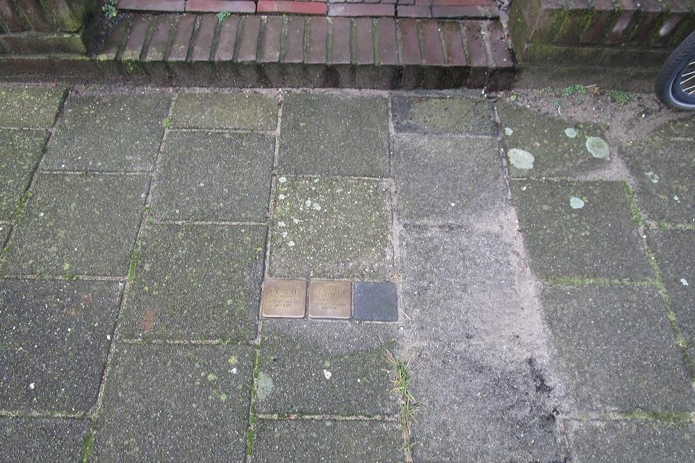 Herdenkingsstenen Vivienstraat 53