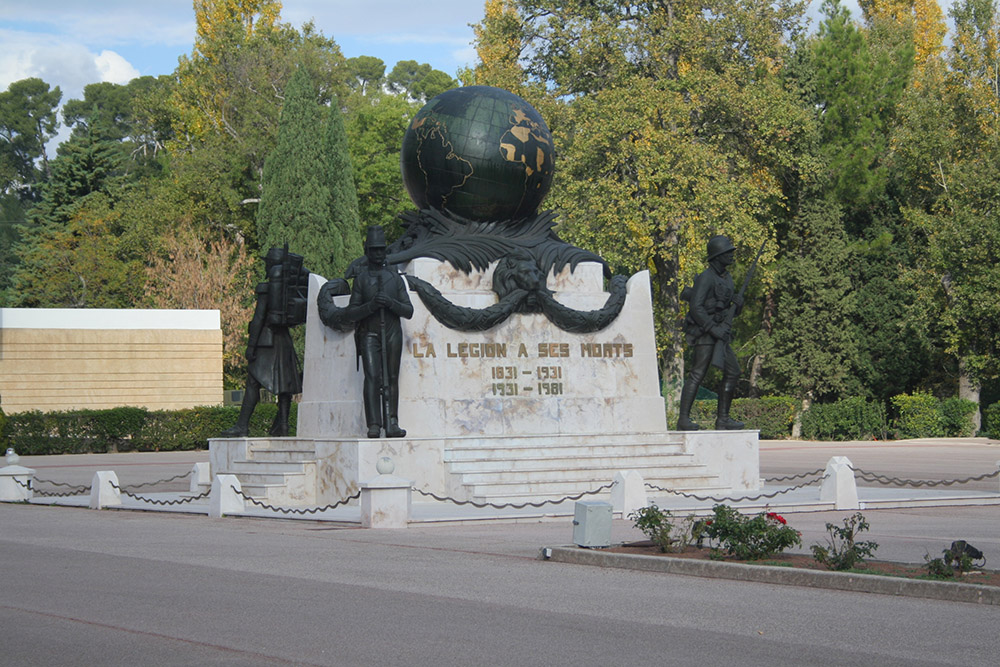 Memorial Fallen French Foreign Legion