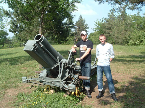 15 cm sFH 13 L/14 Howitzer Mutzig