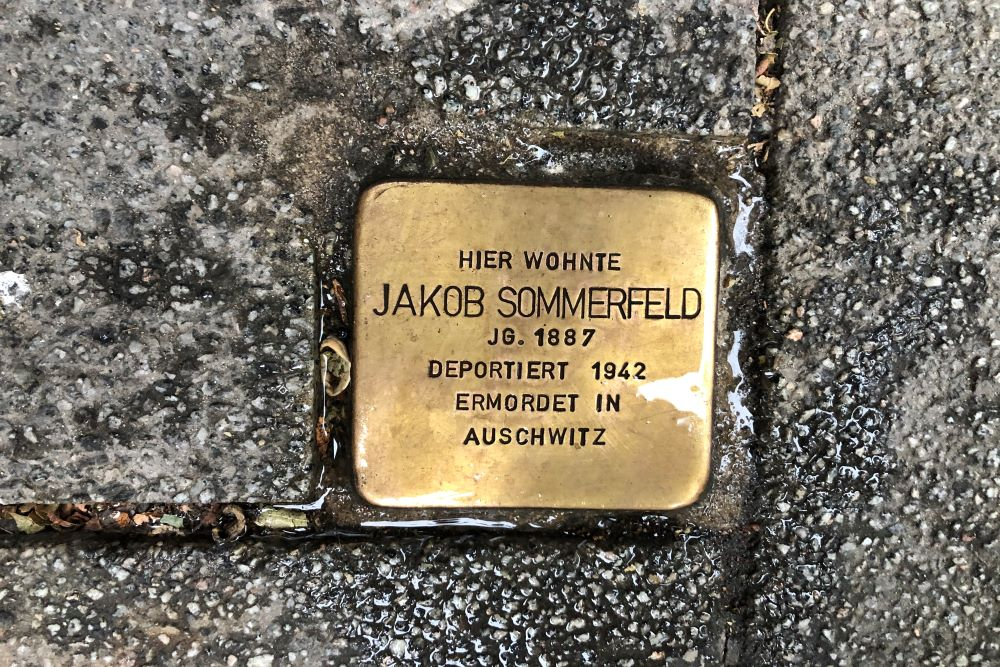 Stumbling Stone Oranienstraße 45