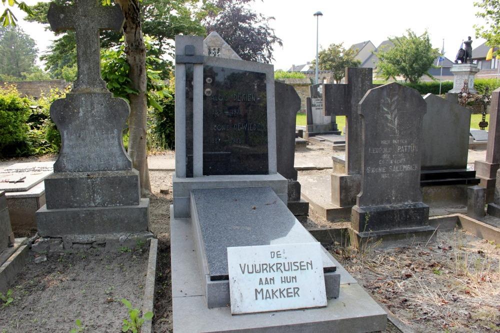Veteran War Graves Adinkerke