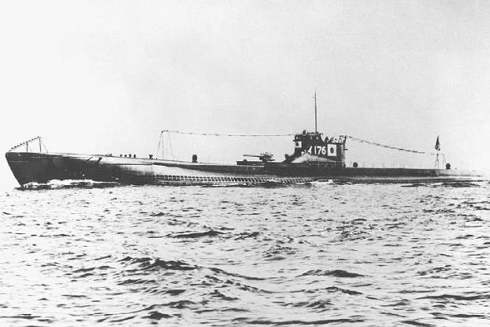 Shipwreck HIJMS I-176