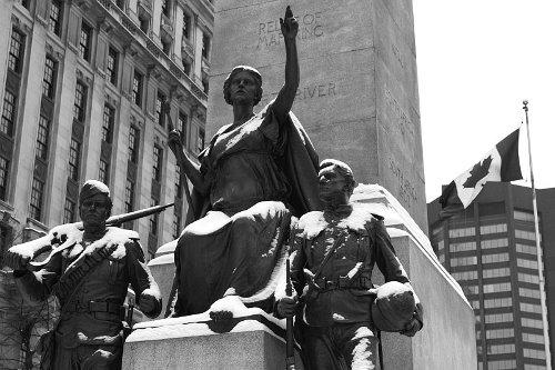Monument Boerenoorlog Toronto