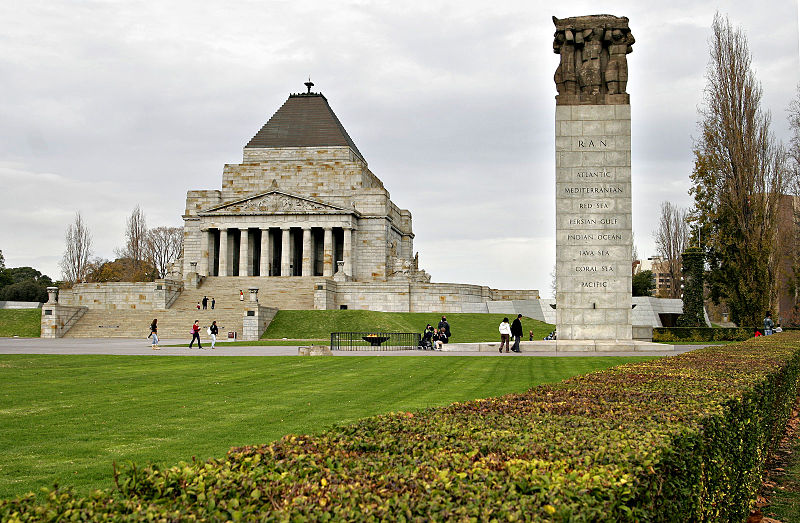 World War II Memorial Melbourne