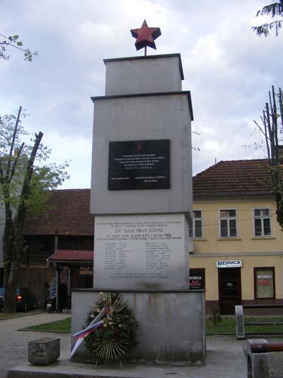 Monument Partizanen Bosanska Kostajnica