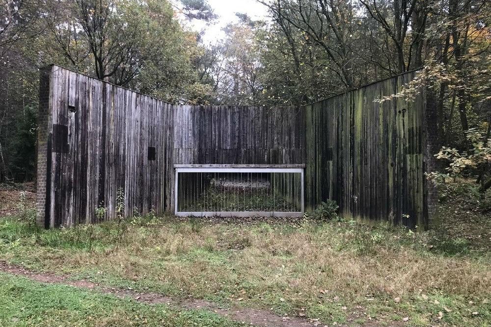 Schietbaan Handvuurwapens Fliegerhorst Twente