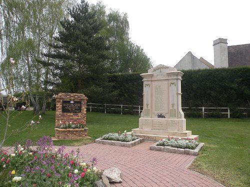 War Memorial Bray-et-Lû