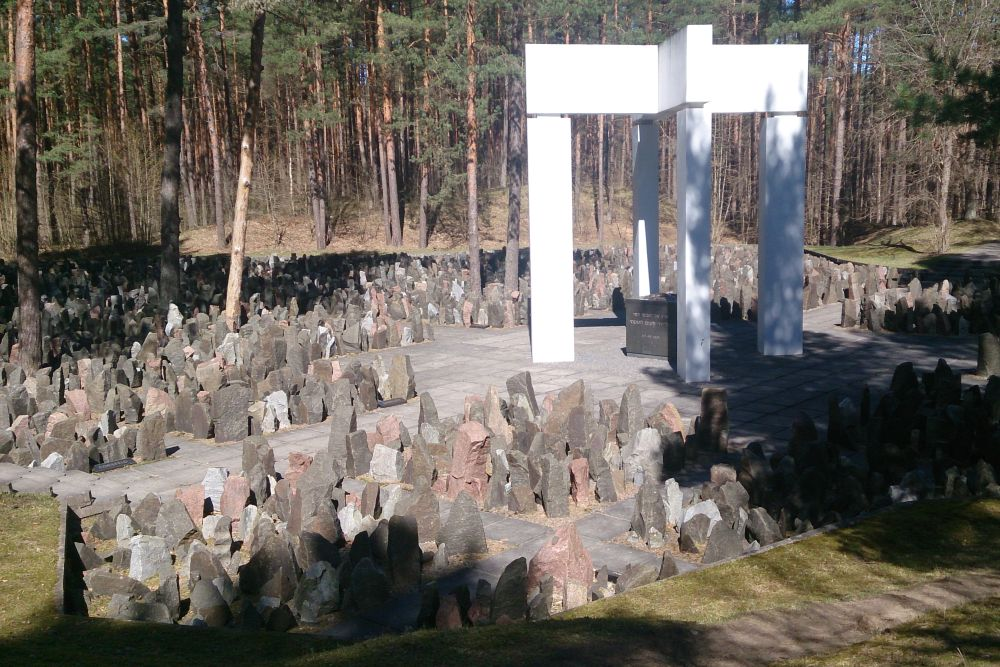 Cemetery Murdered German Jews Riga-Bikernieki-Forest