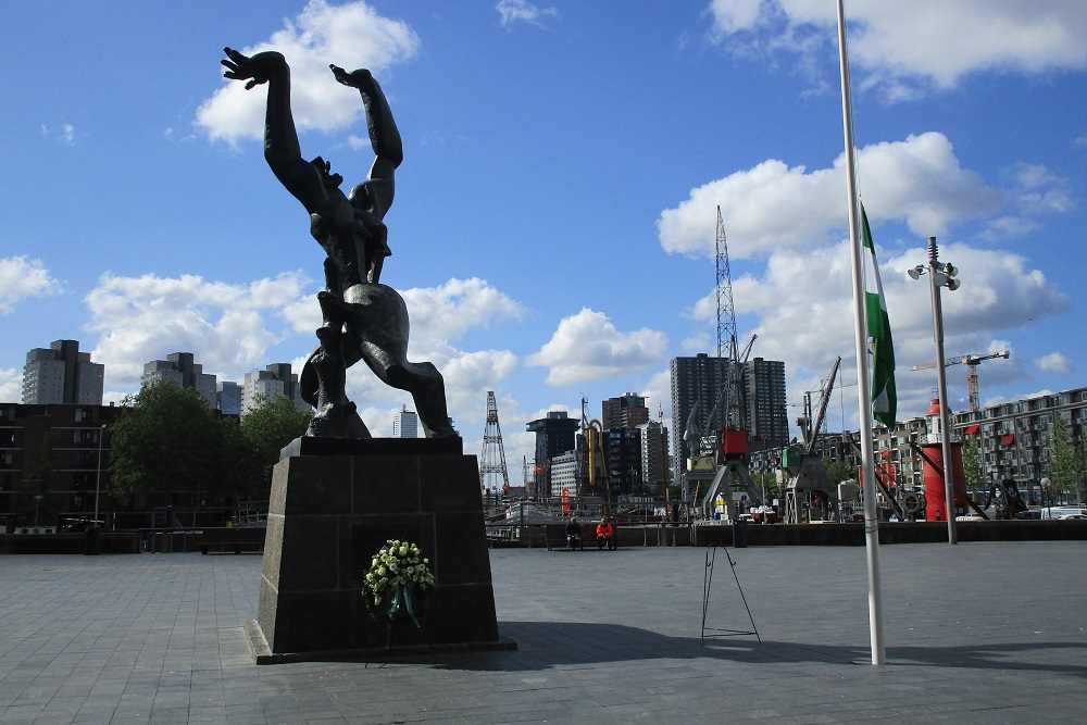 'The Destroyed City' Memorial Rotterdam