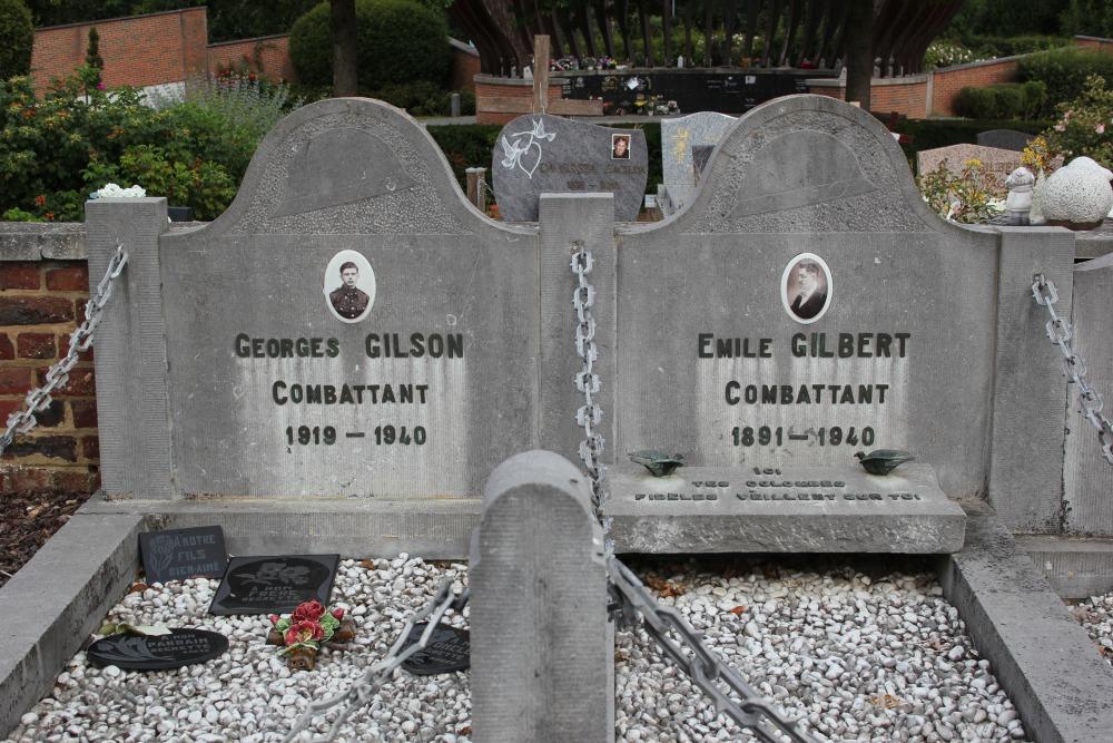 Belgian War Grave Mont-Saint-Guibert