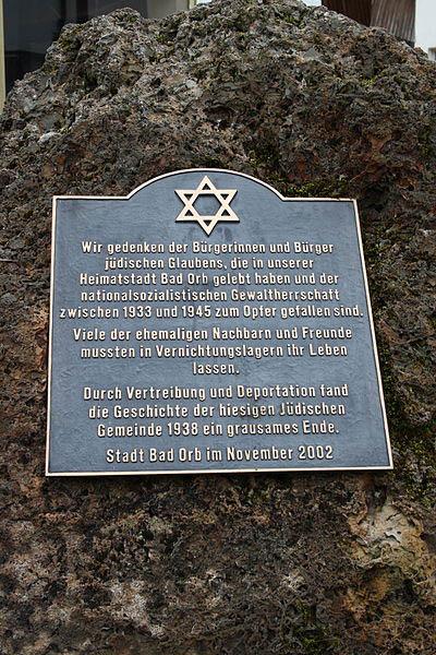 Holocaust Memorial Bad Orb