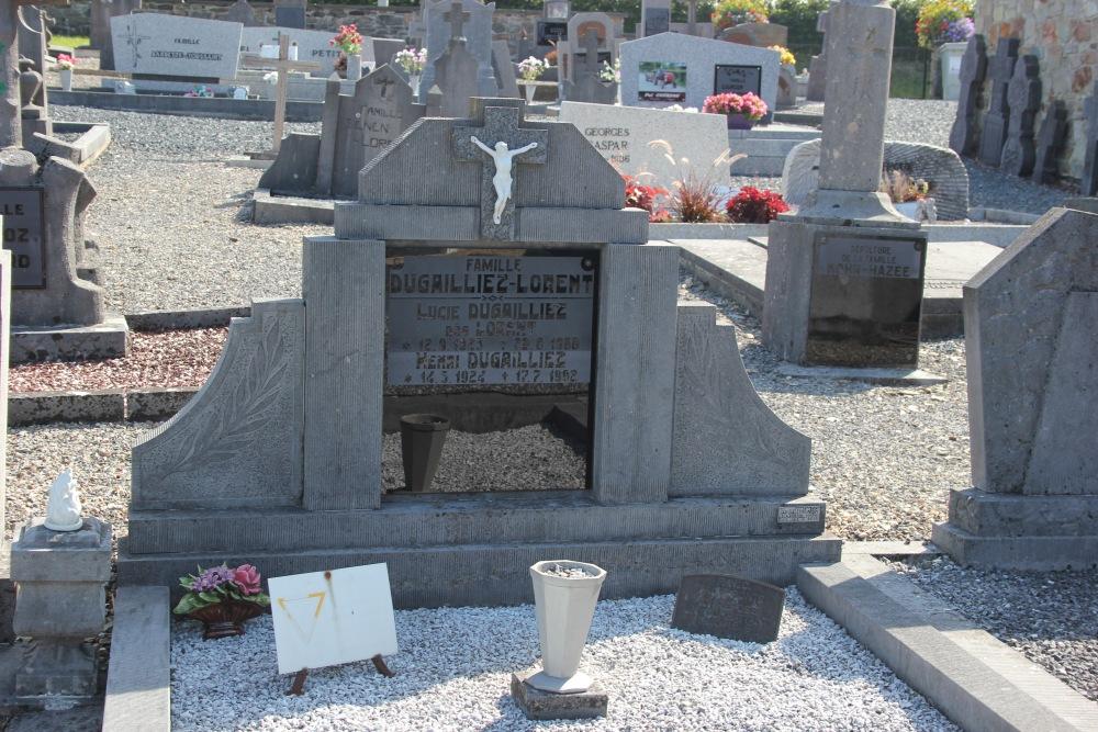 Graven Oudstrijders Saint-Jacques