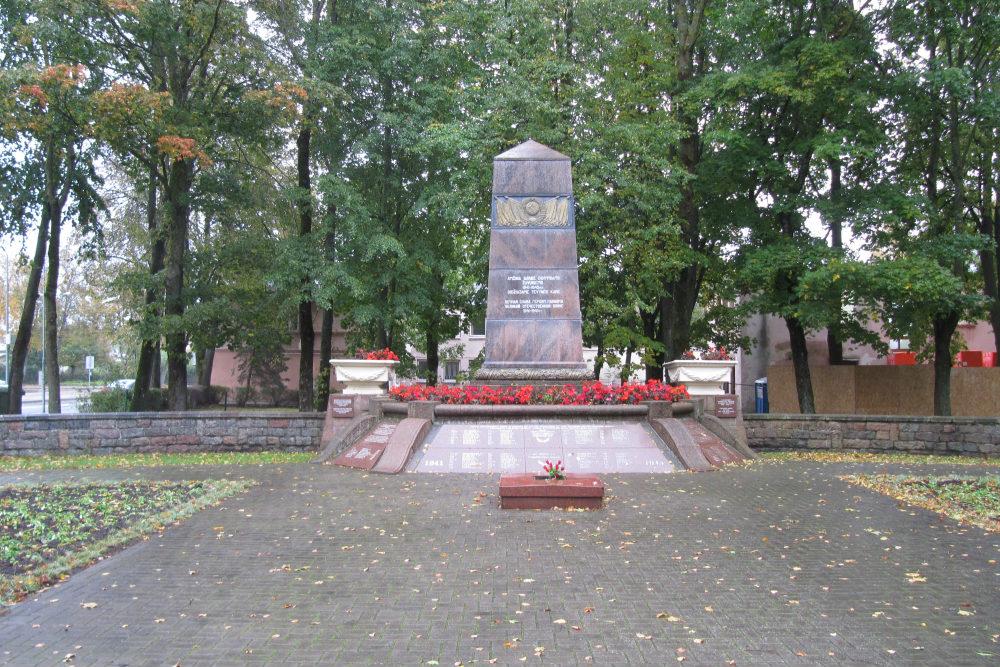 Massagraf Sovjet Soldaten Palanga
