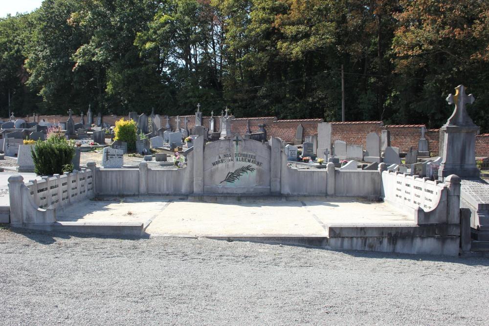 Belgische Oorlogsgraven Braine-Le-Château