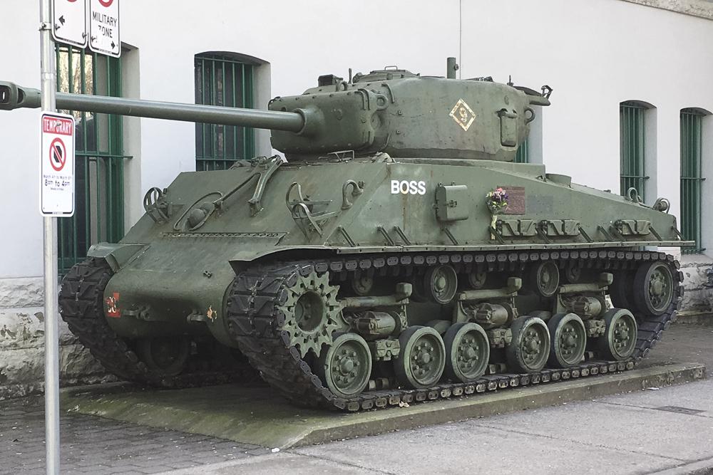 Sherman M4A3E8 Tank
