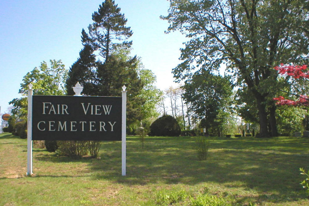 American War Grave Fair View Cemetery