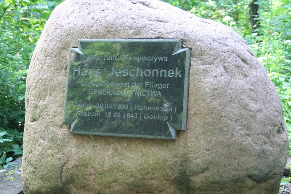 Grave Generaloberst Hans Jeschonnek