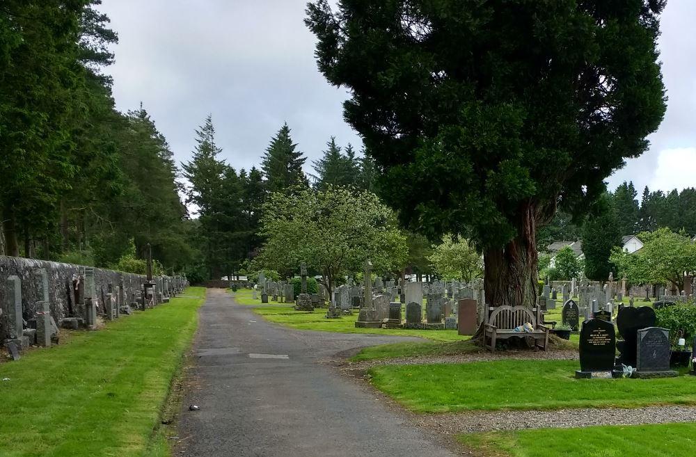Commonwealth War Graves Callander Cemetery