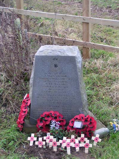 Memorial Lancaster Bomber Ulceby Cross