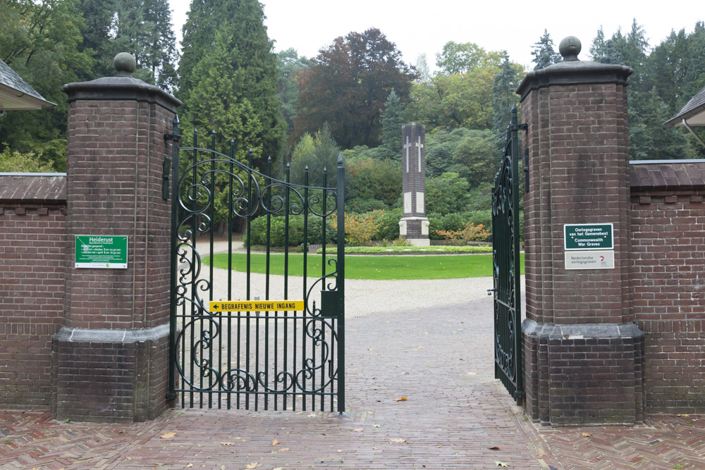 General Cemetery Heiderust Rheden