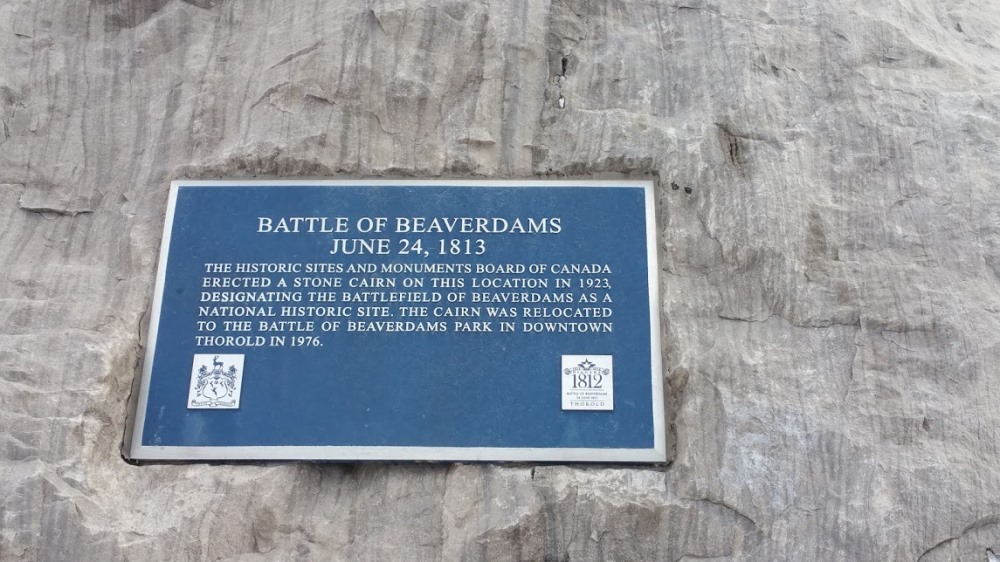 Monument Slag van Beaver Dams