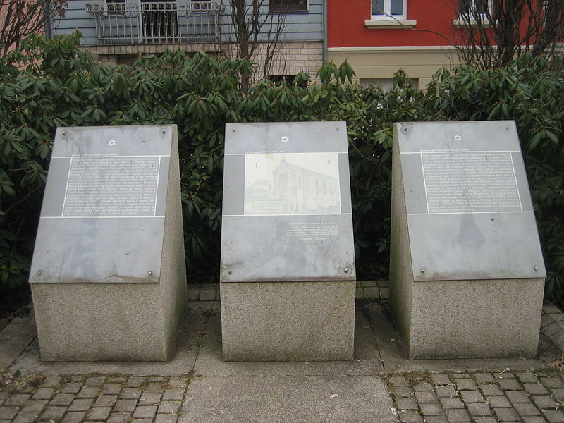 Jewish Memorial Esch-sur-Alzette