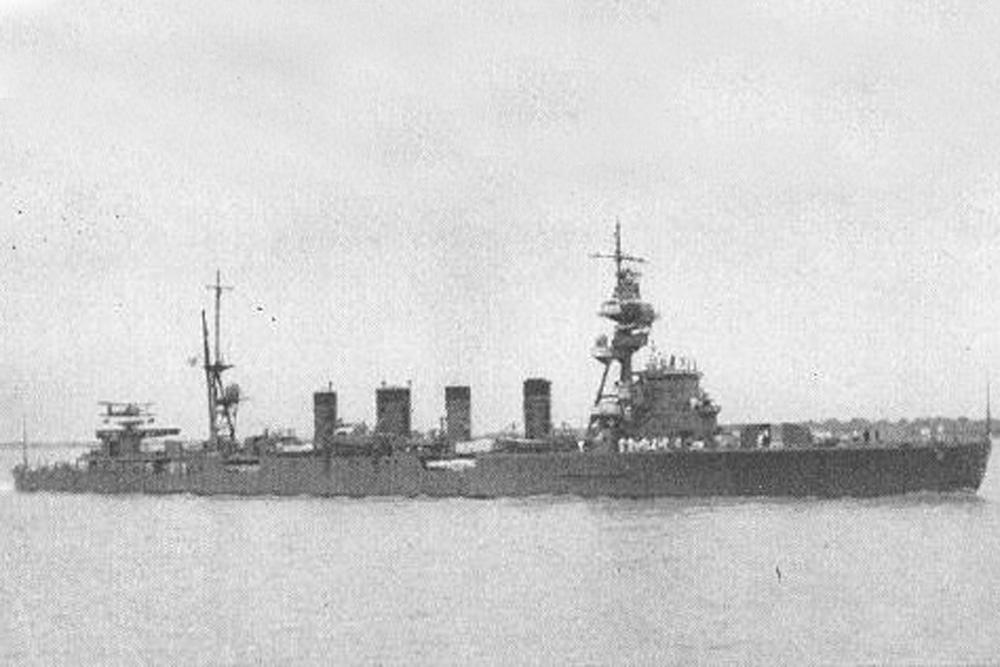 Shipwreck HIJMS Sendai