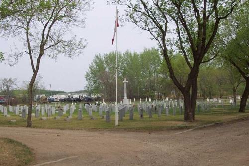 Commonwealth War Graves North Battleford Cemetery