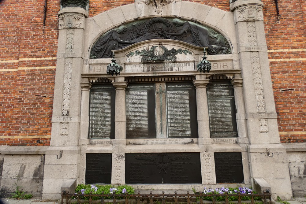Oorlogsmonument Wijk 2 in Gent