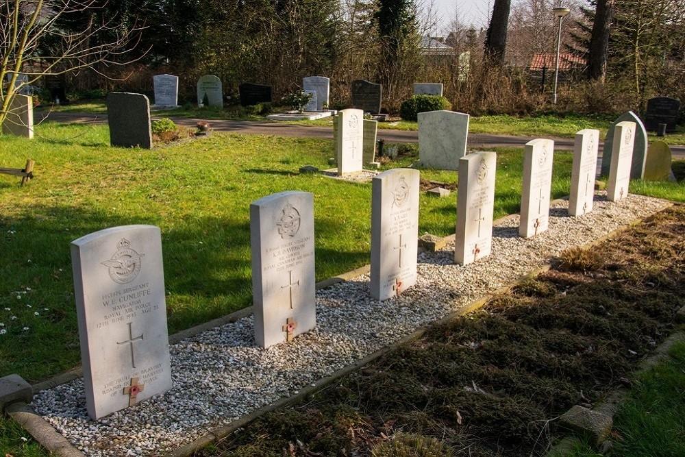 Oorlogsgraven van het Gemenebest Duinrust Beverwijk