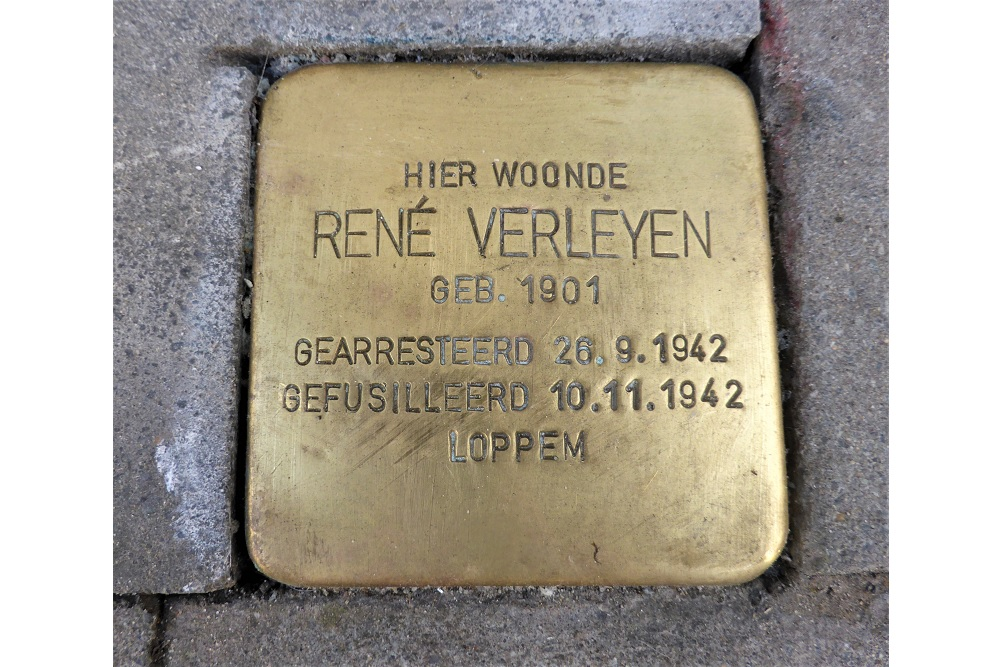 Stolperstein Dijkstraat 114