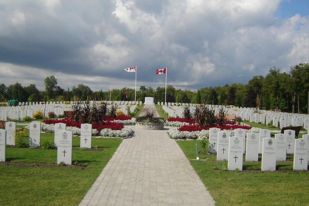 Canadese Oorlogsgraven Beechwood Cemetery