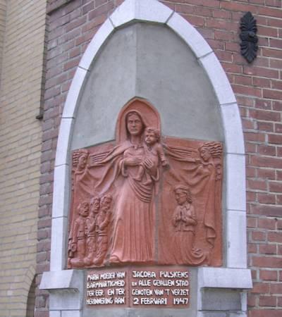 Monument Coba Pulskens Tilburg