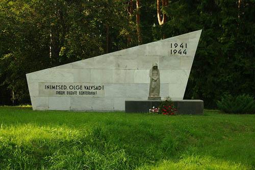 Sovet Oorlogsbegraafplaats Valga