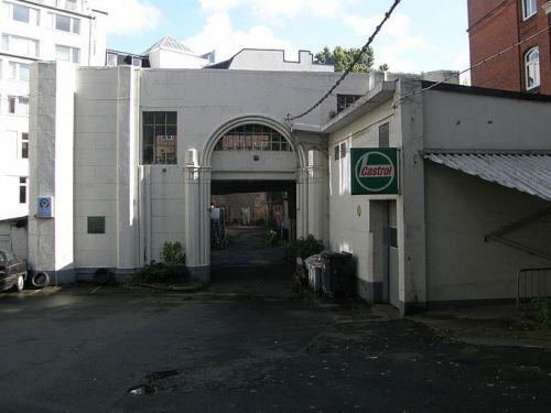 Restanten Synagoge Poolstraße