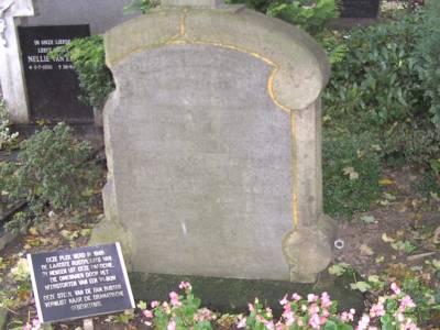 Sepulchral Memorial for V1 Victims Roman Catholic Churchyard Goirke Tilburg