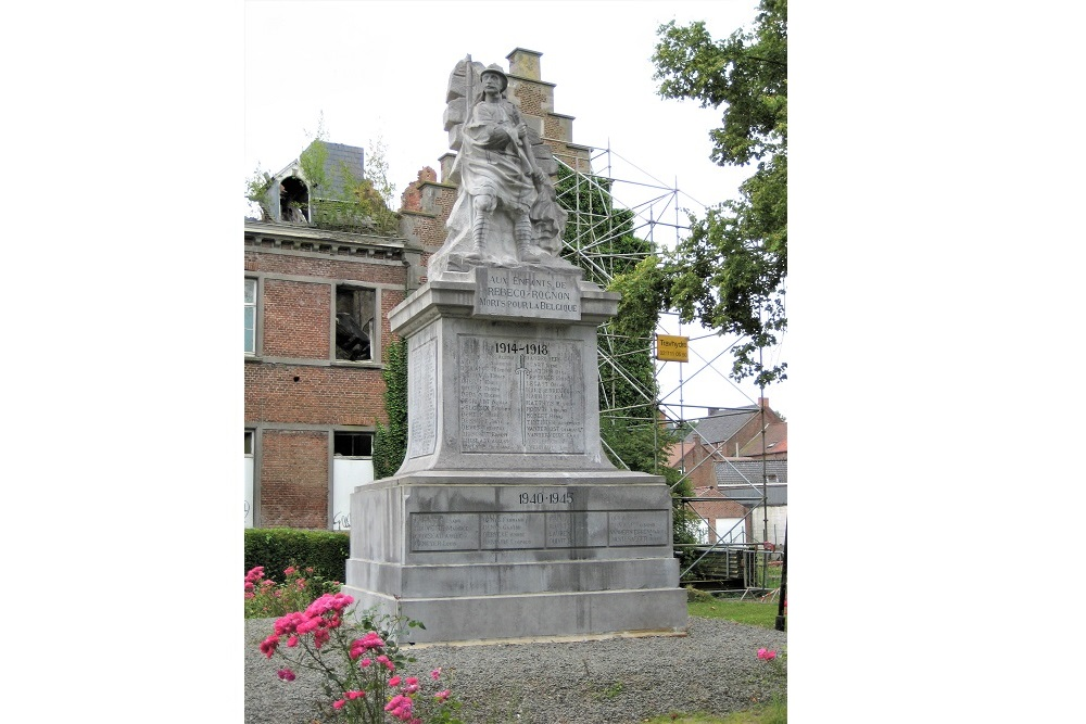 Monument Rebecq-Rognon
