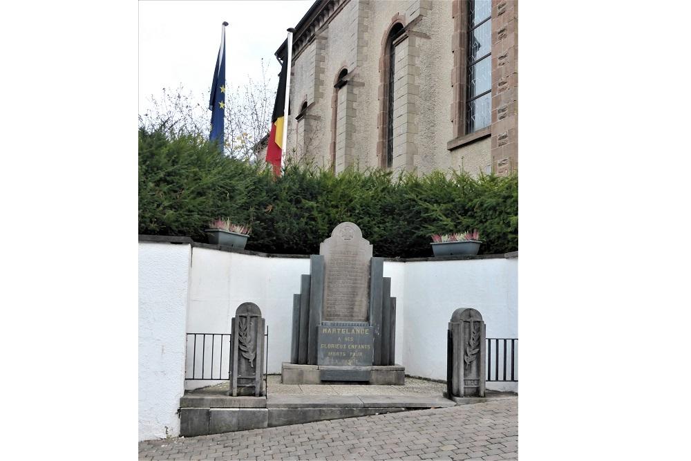 War Memorial Martelange